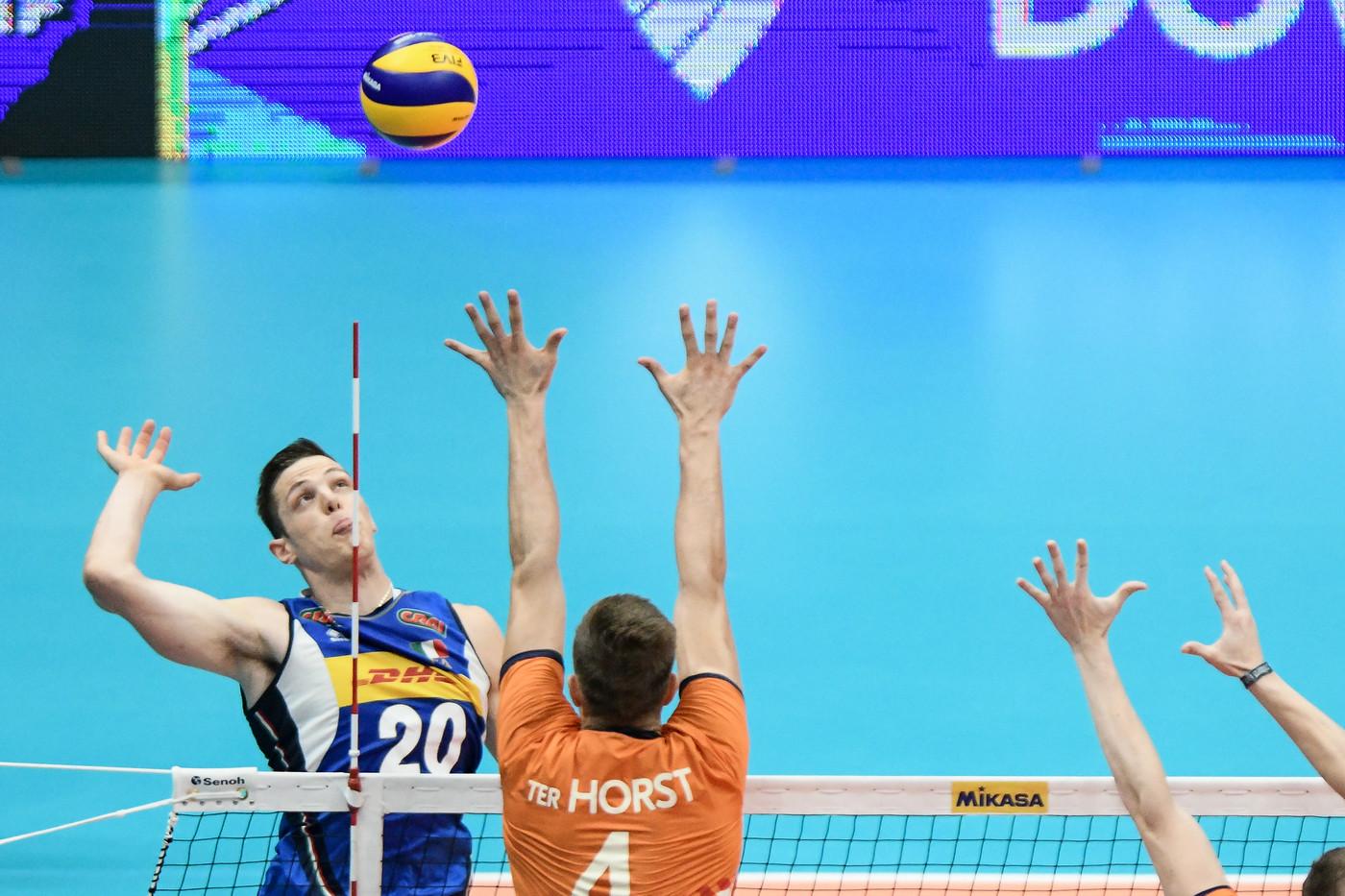 Volley Mondiali Italia batte Olanda