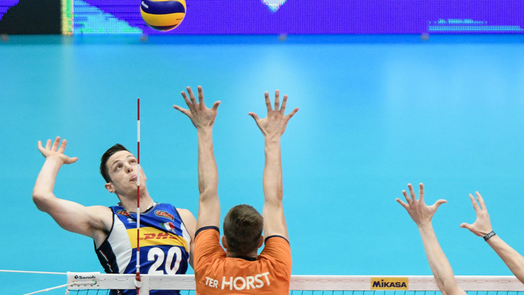 Volley Mondiali Italia batte Olanda