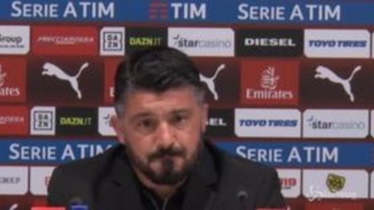 """Gattuso: """"Non basta giocar bene e far divertire la gente"""""""