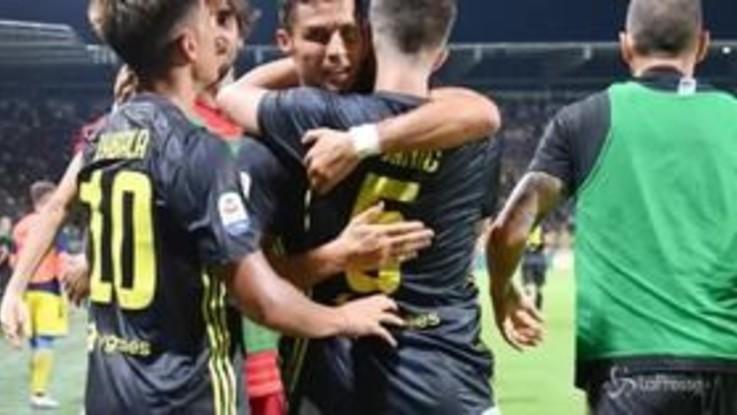 La Juventus vince 2-0 con il Frosinone