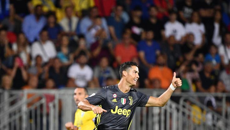"""Frosinone-Juve, Ronaldo esulta sui social: """"Un'altra vittoria, avanti così"""""""