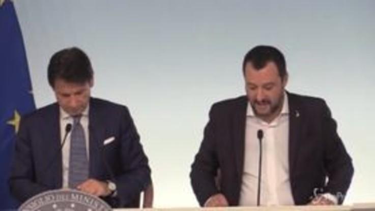 """Salvini: """"Il mio obiettivo è zero campi rom entro fine legislatura"""""""