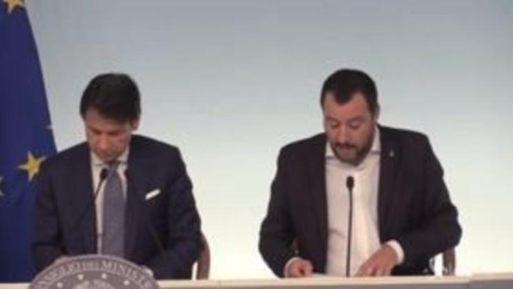 """Salvini: """"Daremo protezione umanitaria nei casi di violenza, tratta, sfruttamento"""""""