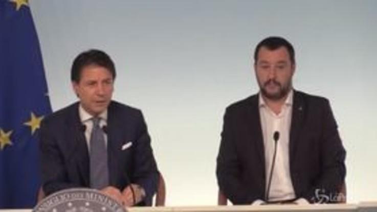 """Decreto Genova, Conte: """"Martedì testo a Mattarella, poi il nome del Commissario"""""""