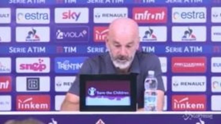 """Fiorentina, Pioli: """"Dobbiamo essere consapevoli delle nostre qualità"""""""