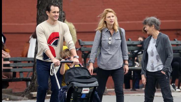 Claire Danes e Hugh Dancy, prime passeggiate da neo-genitori bis