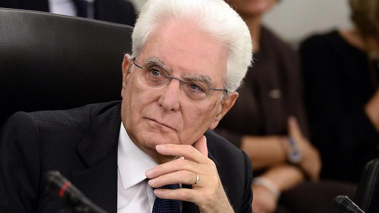"""Mattarella: """"I magistrati rispondono a legge non alle opinioni correnti"""""""