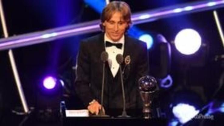 Fifa Best 2018, Modric il miglior giocatore