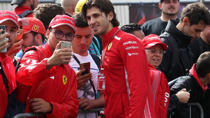 Torna un italiano in F1. Giovinazzi seconda guida Alfa Romeo Sauber nel 2019