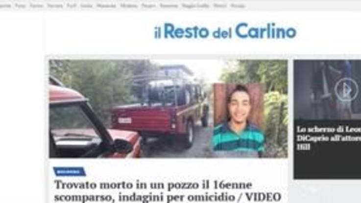 Ritrovato morto in un pozzo il sedicenne scomparso nel bolognese