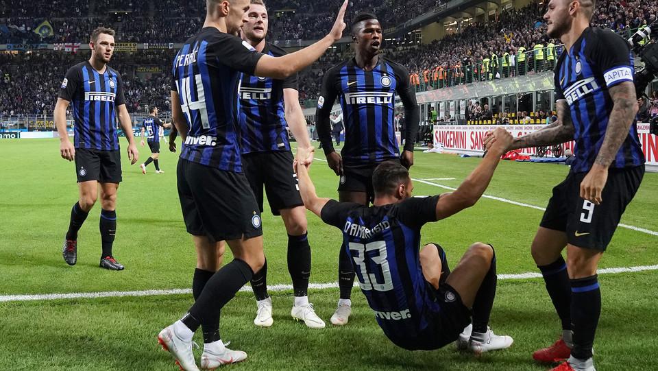 E regala all'Inter il terzo posto, agganciando la Fiorentina ©