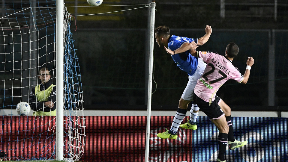 Brescia-Palermo - Donnarumma segna il gol dell'1-0 ©