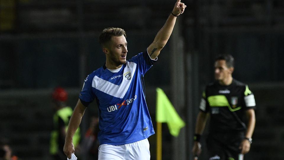 Brescia-Palermo - Donnarumma dopo il primo gol ©