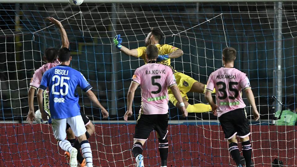 Brescia-Palermo - Donnarumma: l'1-0 ©