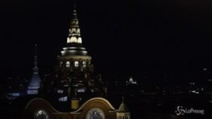 Torino, riapre la cappella della Sindone: le luminarie notturne
