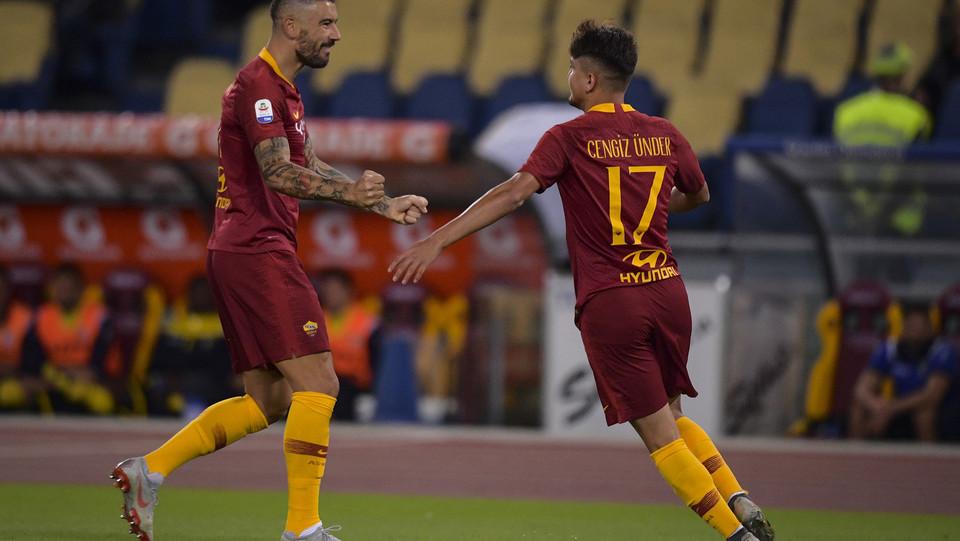 Under fa già 1-0 per la Roma al 2' ©