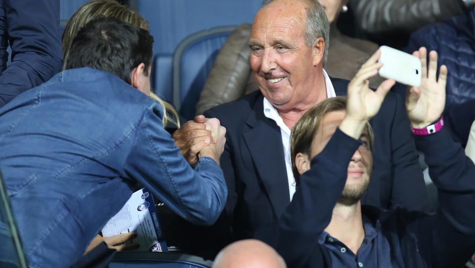 L'ex allenatore Ventura allo stadio ©