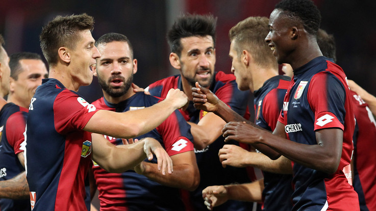 Serie A, Piatek-Pandev stendono il Chievo: Genoa vince 2-0
