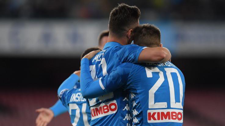 Serie A, il Napoli non si ferma: Parma battuto 3-0 al San Paolo