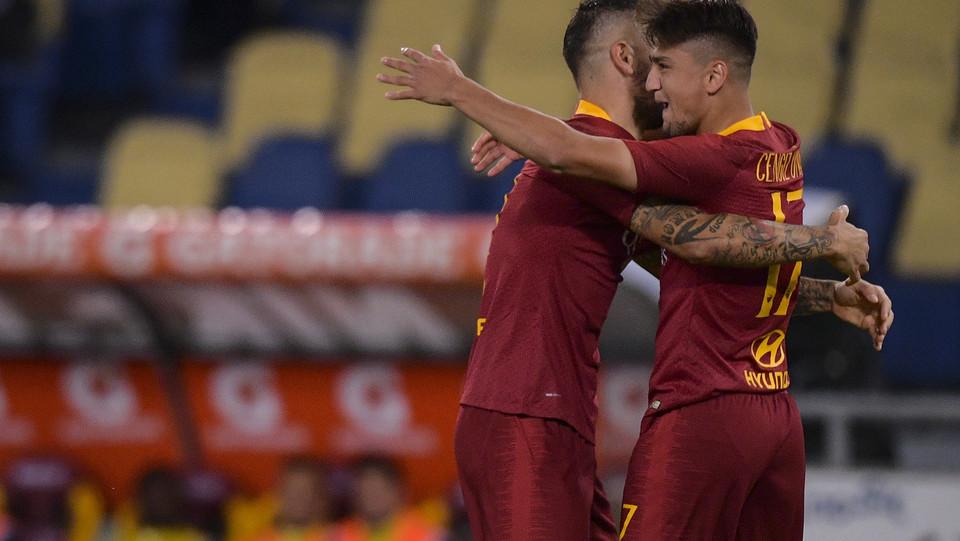 La Roma si rialza ed è ora a metà classifica con 8 punti ©