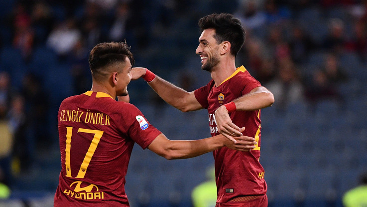 Serie A, la Roma esce dalla crisi: Frosinone travolto 4-0