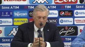 """Napoli, Ancelotti: """"Ci stiamo comportando bene, nonostante il calendario"""""""