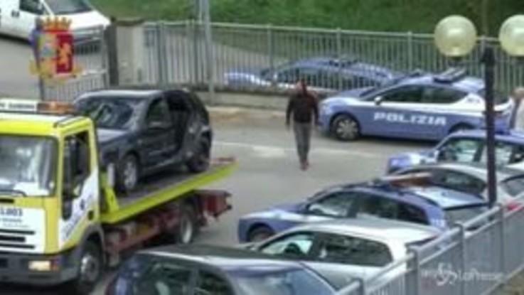Rapina in villa: ecco l'auto usata per l'assalto