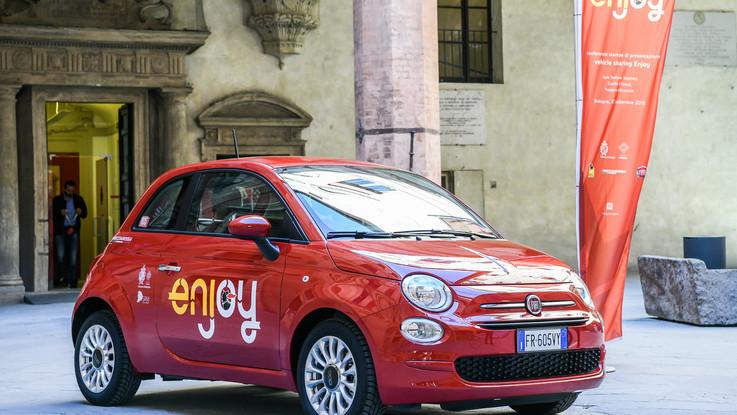 Fca: il servizio Enjoy arriva a Bologna