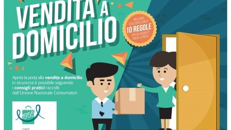 Vendita diretta a domicilio dieci regole Unione Consumatori Avedisco