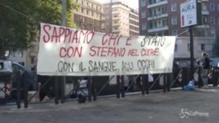 Caso Cucchi, sit-in piazzale Clodio per processo bis