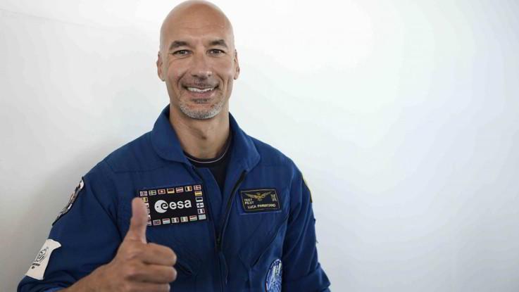 Luca Parmitano torna nello spazio: nel 2019 la missione Beyond