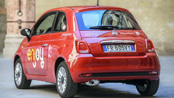 Fca: presentato a Bologna il car sharing con la 500