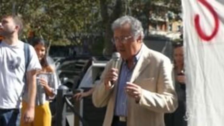 Processo Cucchi, il padre di Stefano ringrazia gli studenti in protesta