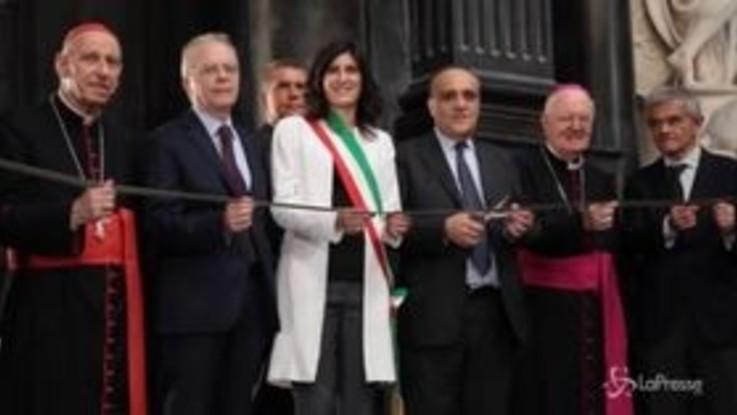 Torino, riapre la Cappella della Sindone. Ma il lenzuolo rimarrà in Duomo