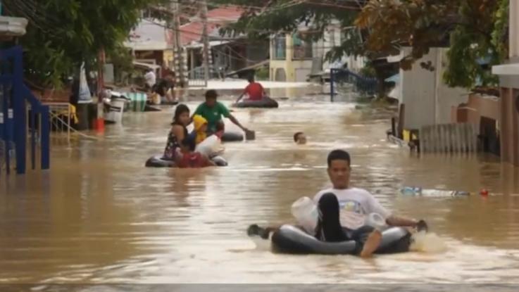Tifone nelle Filippine: lento miglioramento dopo la devastazione
