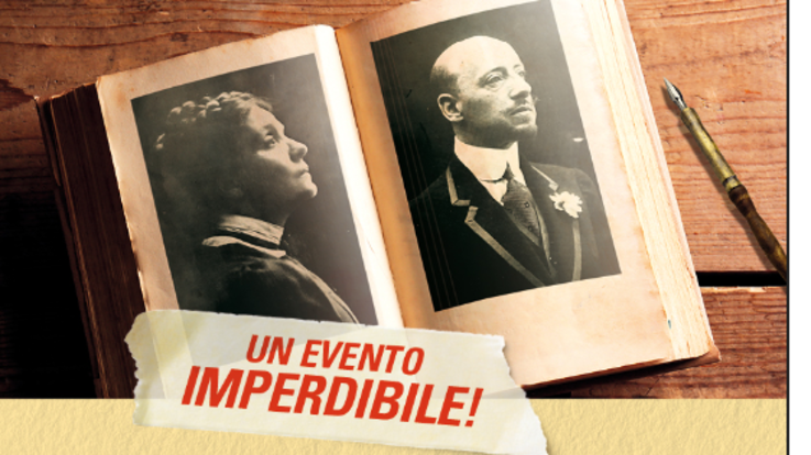 """Teatro Asolo Eleonora Duse Gabriele D'Annunzio """"A Ghisola, tuo Gabri"""""""