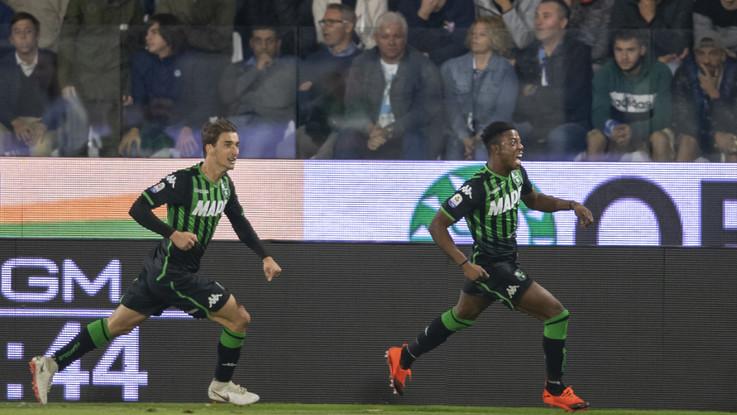 Serie A, Adjapong-Matri: il Sassuolo batte la Spal 2-0