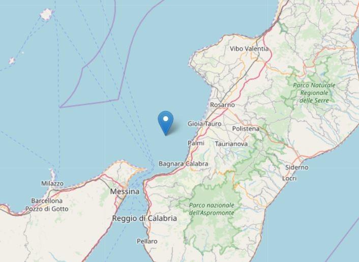 Terremoto, scossa di magnitudo 4,2 nel sud della Calabria
