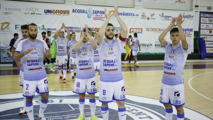 Calcio a 5, Serie A: l'Acqua&Sapone vince all'esordio