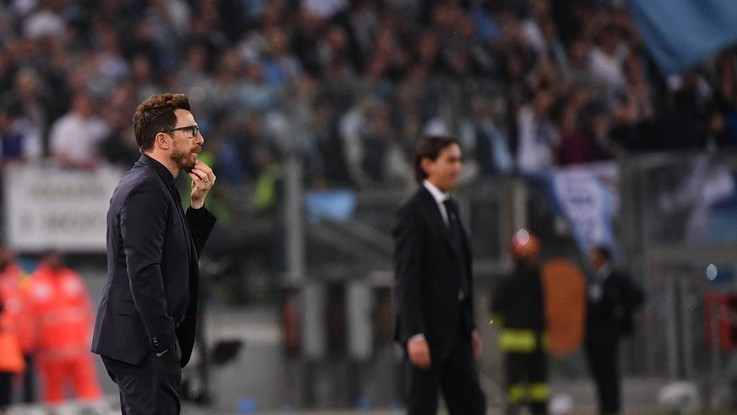 """C'è il derby Roma-Lazio. Inzaghi: """"I giallorossi non sono in difficoltà"""". Dubbio Manolas"""