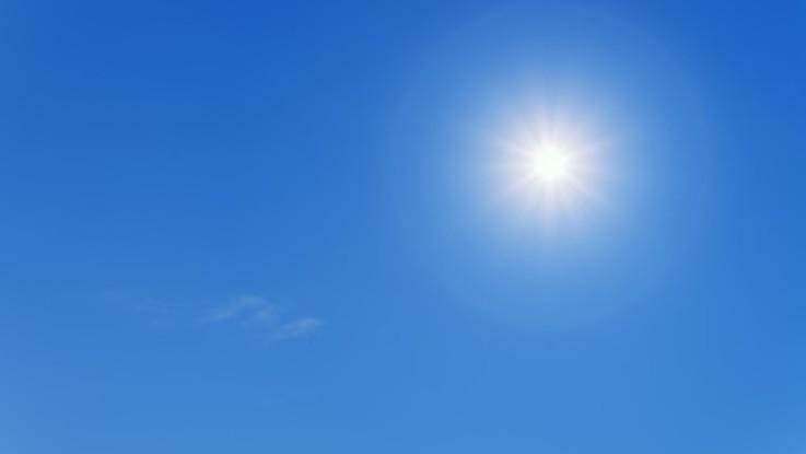 Weekend di bel tempo, poi scendono le temperature: il meteo del 29 e 30 settembre
