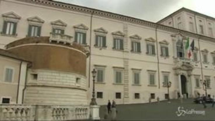 Decreto Genova, il presidente Mattarella ha firmato
