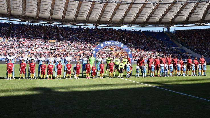 Serie A, Roma-Lazio 3-1 | Il Fotoracconto