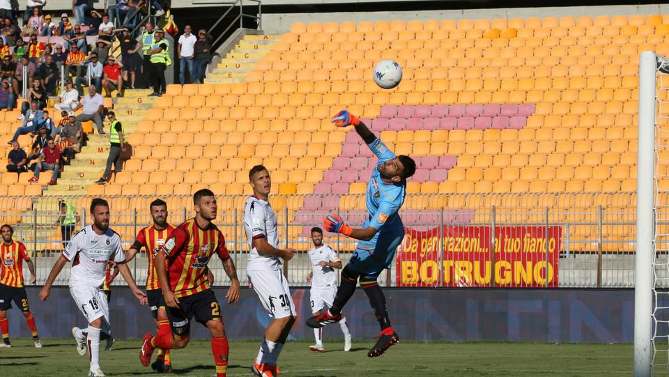 Lecce-Cittadella 1-1. Il pareggio di Strizzolo a fine match ©