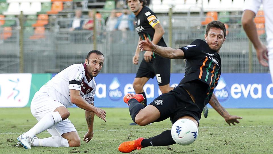 Venezia-Livorno 1-1. Bruscagin ©
