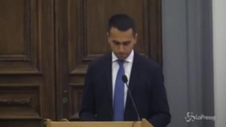 """Def, Di Maio : """"Ripagheremo italiani da ruberie passate"""""""