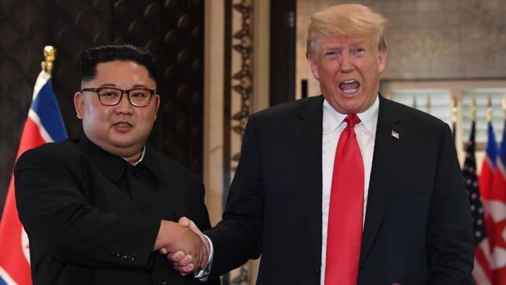 """Nord Corea, Trump: """"Io e Kim ci siamo innamorati"""""""