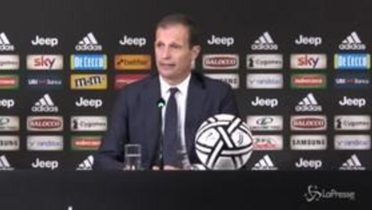 """Marotta lascia Juventus, Allegri: """"Quattro anni e mezzo belli, ci mancherà"""""""