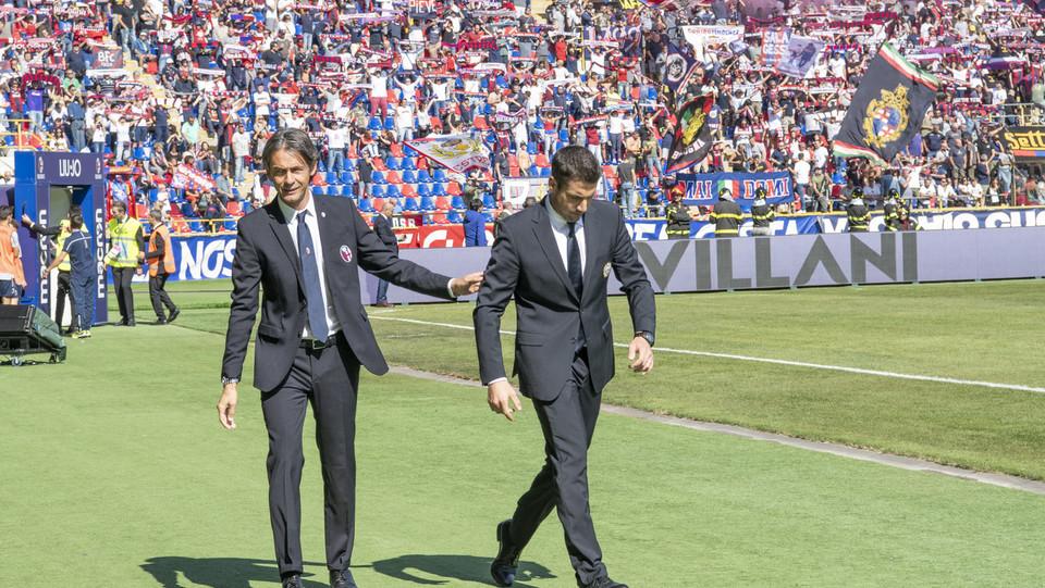 Gli allenatori Inzaghi e Vazquez ©