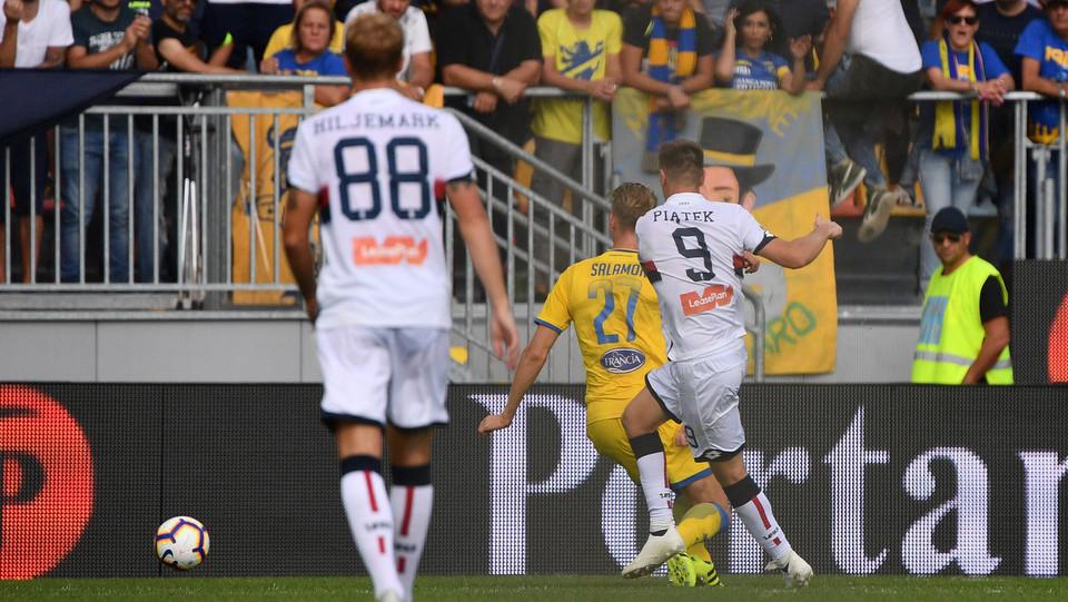 Piatek porta in vantaggio il Genoa ©